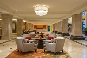 JW Marriott Chicago New Years Eve party Waiting Area