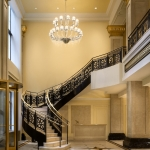 JW Marriott Chicago New Years Eve Party Grand Staircase