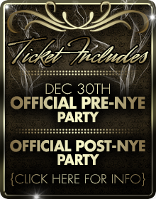 Official Pre – NYE 2020 Party Chicago Packages