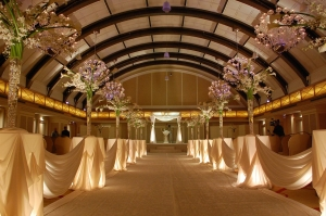Luxorious JW Marriott Chicago New Year's Eve Party Ballroom
